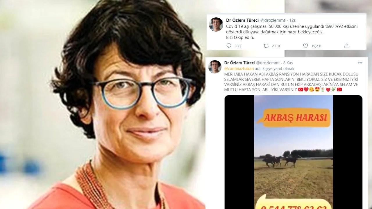 Özlem Türeci adına sahte Twitter hesabı açıldı