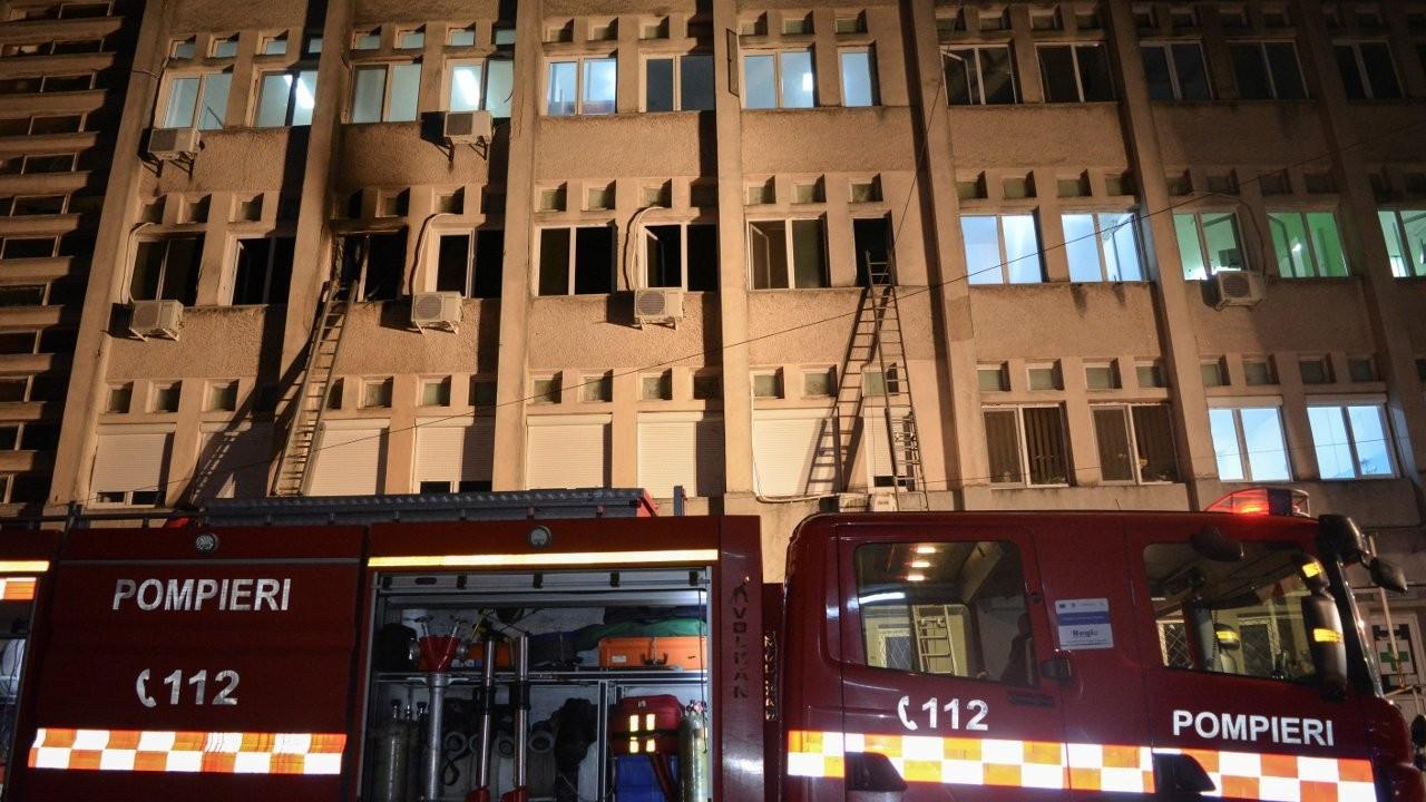 Romanya'da hastane yangını: 10 Covid-19 hastası öldü