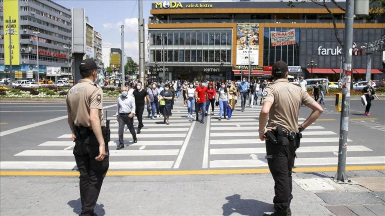 Ankara'da bir ayda 9,6 milyon TL korona cezası