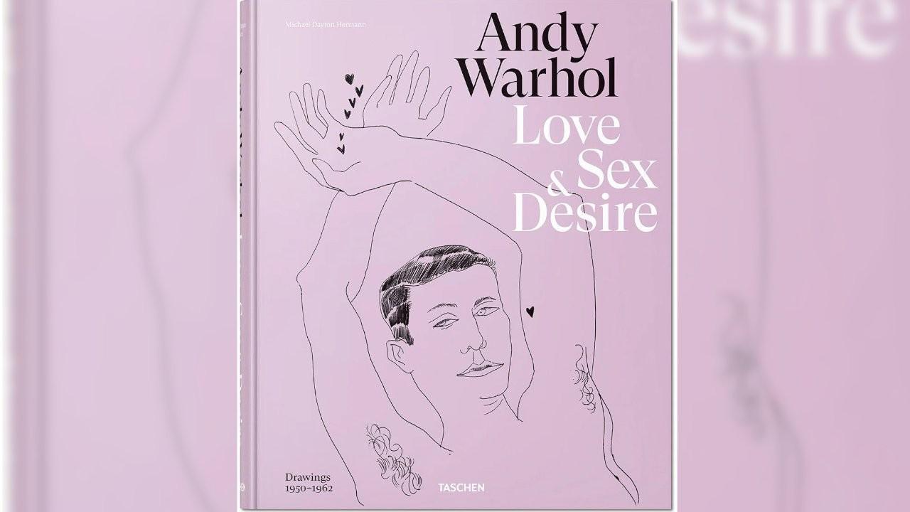 Andy Warhol'un illüstrasyonları bir kitapta toplandı