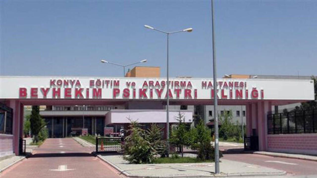 Konya'da hastanede korona karantinası