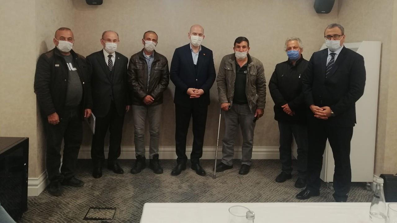 İçişleri Bakanı Soylu madencilere söz verdi: 15 Ocak'a kadar çözülecek