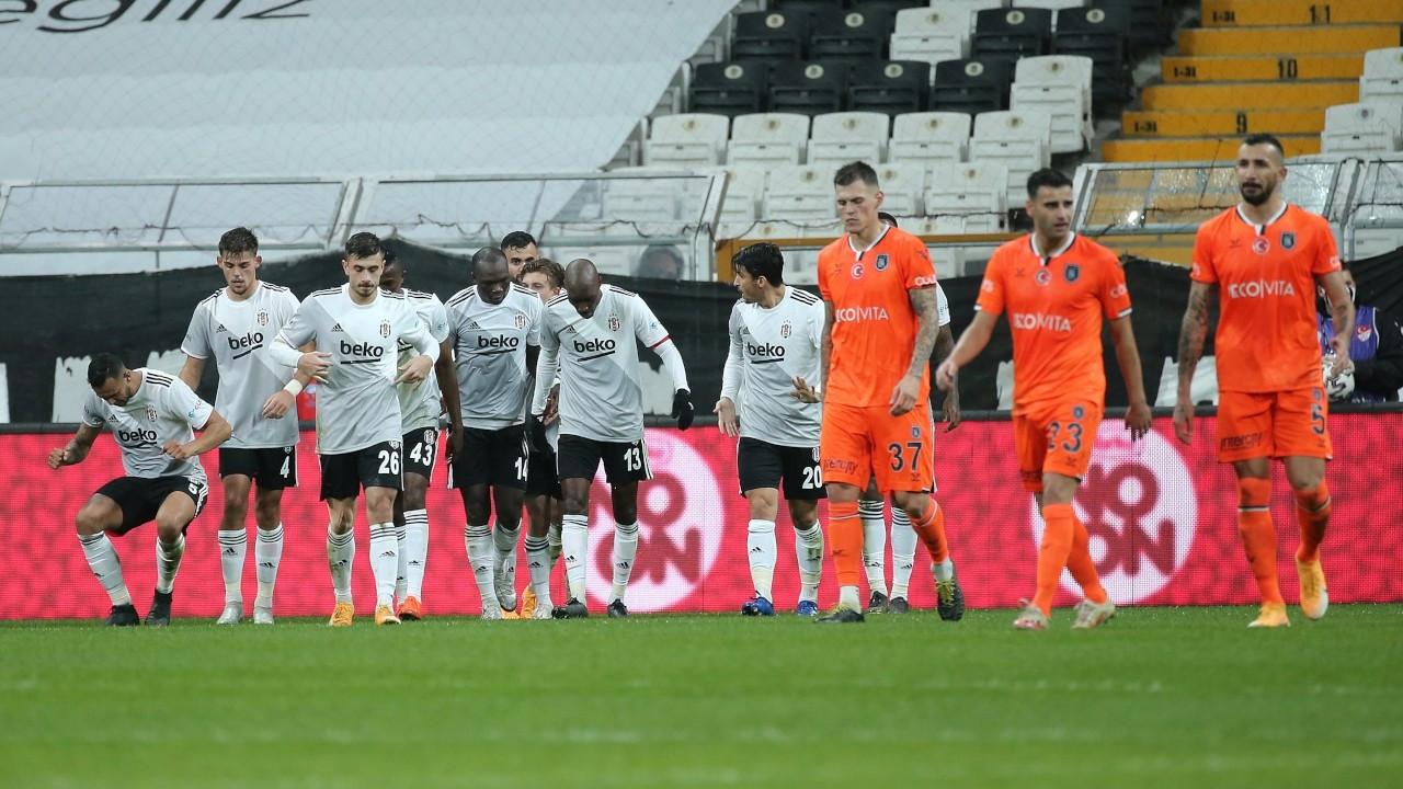 Beşiktaş, Başakşehir'in 4 maçlık serisini sonlandırdı