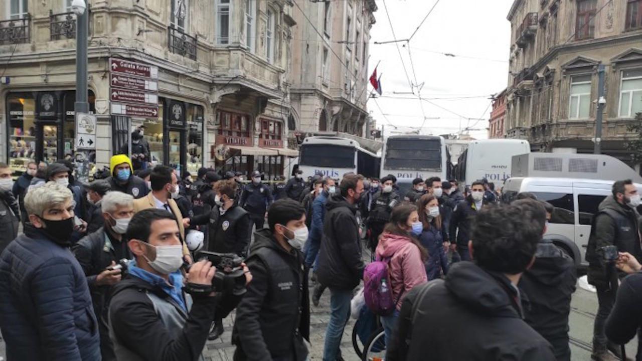 HDP açıklamasına polis saldırdı: Çok sayıda gözaltı