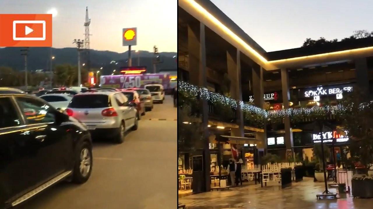 Restoran yasağı AK Partililer için uygulanmadı