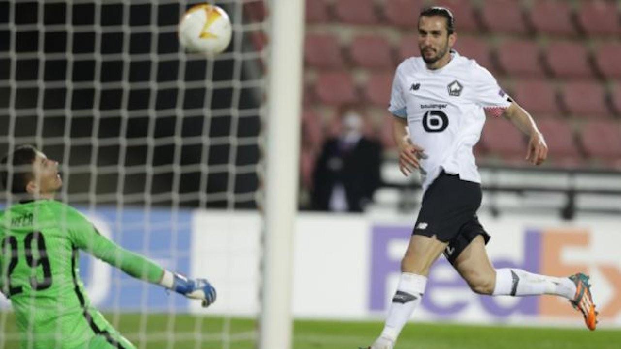 Yusuf Yazıcı golleri attı, Lille kazandı