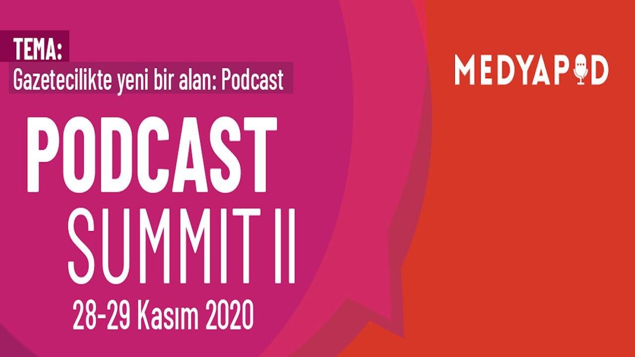Podcast Summit II'nin programı belli oldu