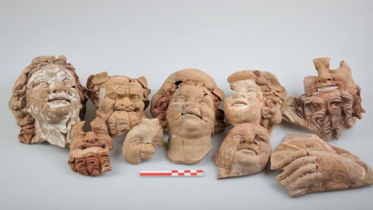 Ordu'da 2 bin 100 yıllık büst ve masklar bulundu