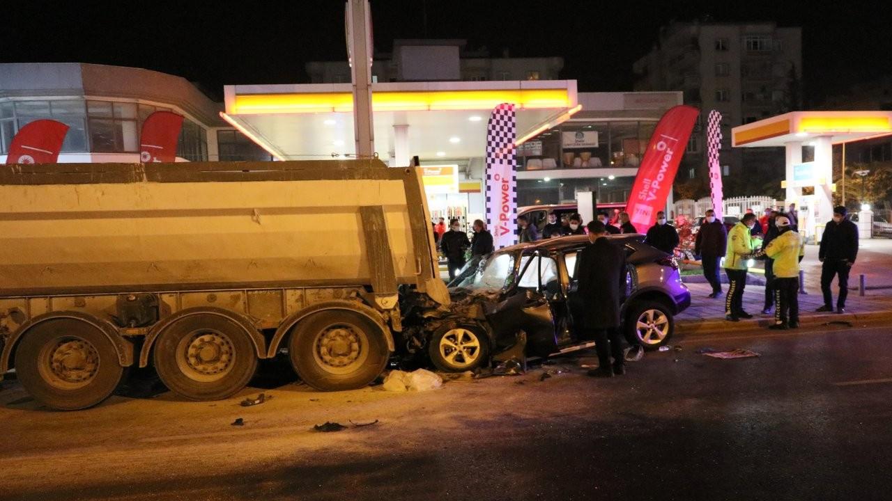 Polis memuru trafik kazasında vefat etti