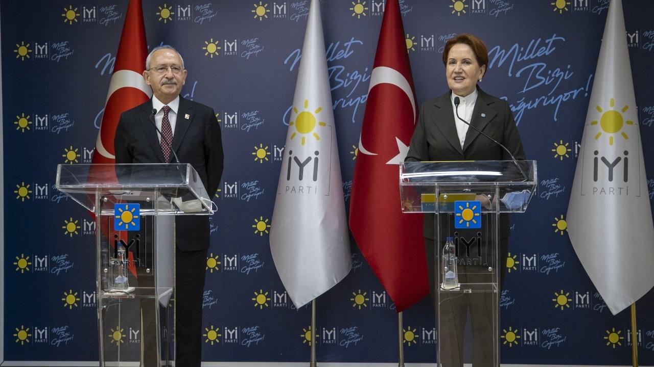 Kılıçdaroğlu ve Akşener erken seçim istedi