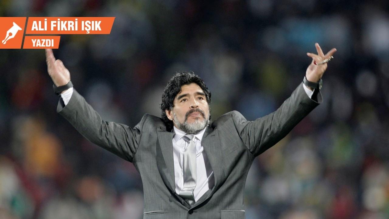 İlahi baharatçı Maradona