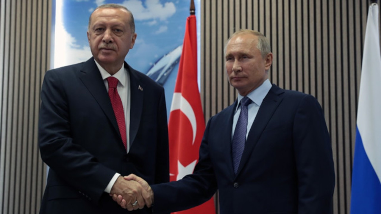 Cumhurbaşkanı Erdoğan, Vladimir Putin'le görüştü