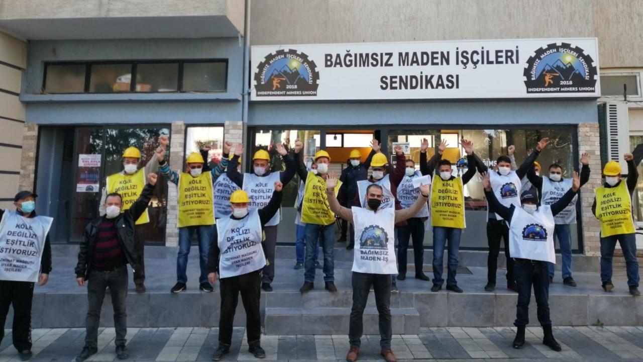 Ermenekli madencilere Soma'dan destek: Buradayız!