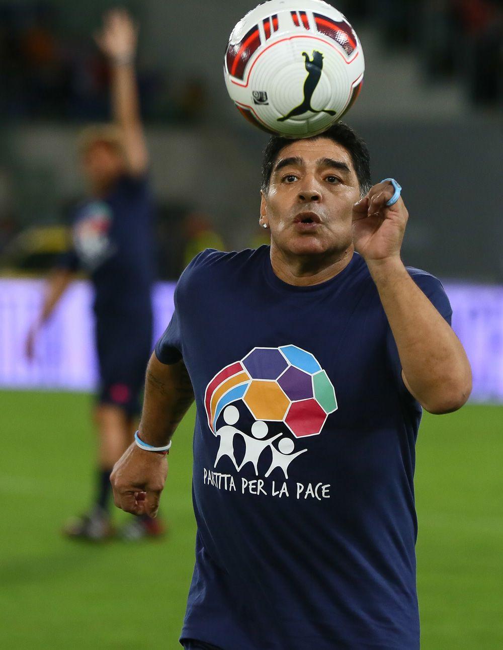 Maradona'nın mezar taşında da 'futbol topu' yazacak - Sayfa 4