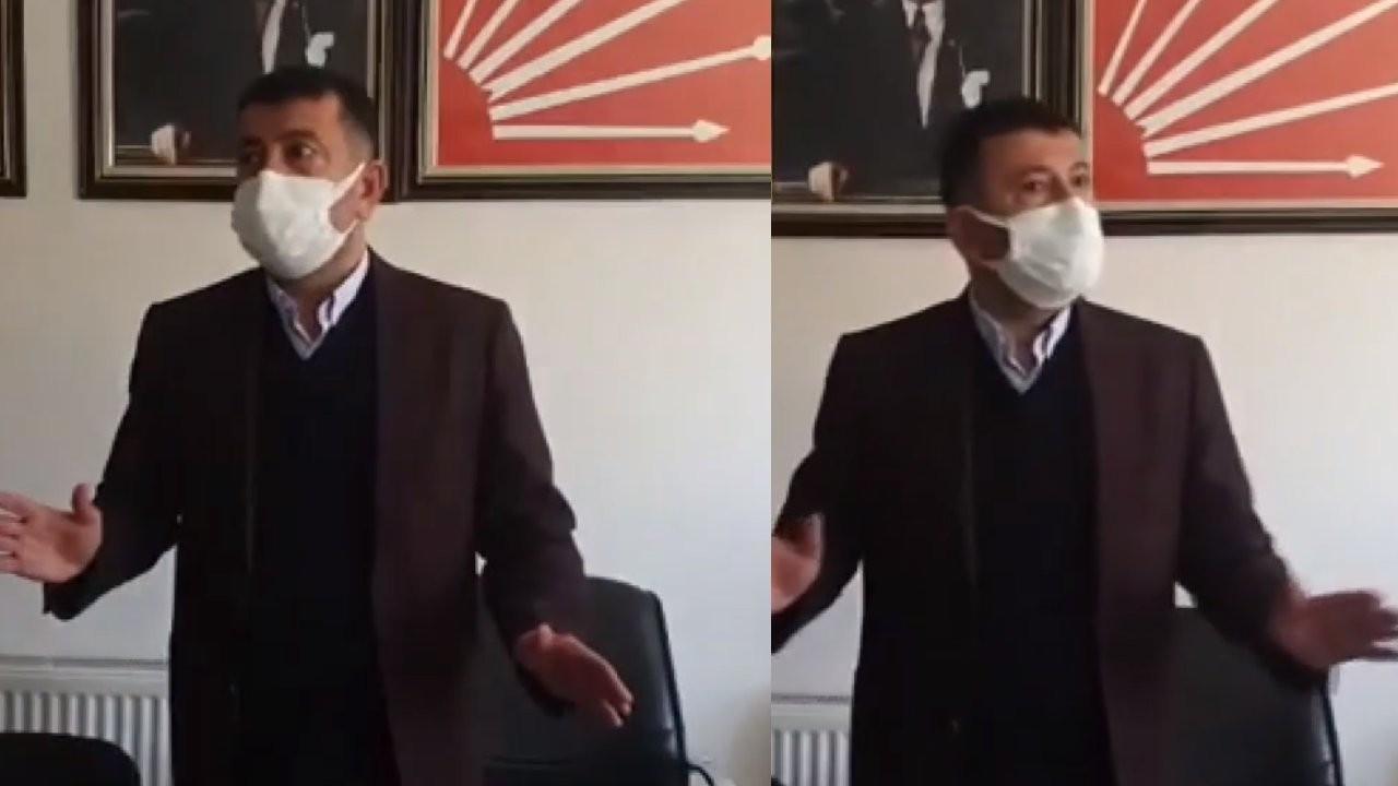 CHP'li Ağbaba Malatya'daki depreme canlı yayında yakalandı