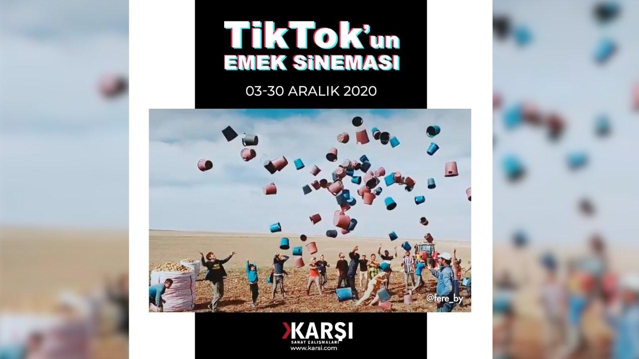 TikTok'un Emek Sineması sergisi Karşı Sanat'ta