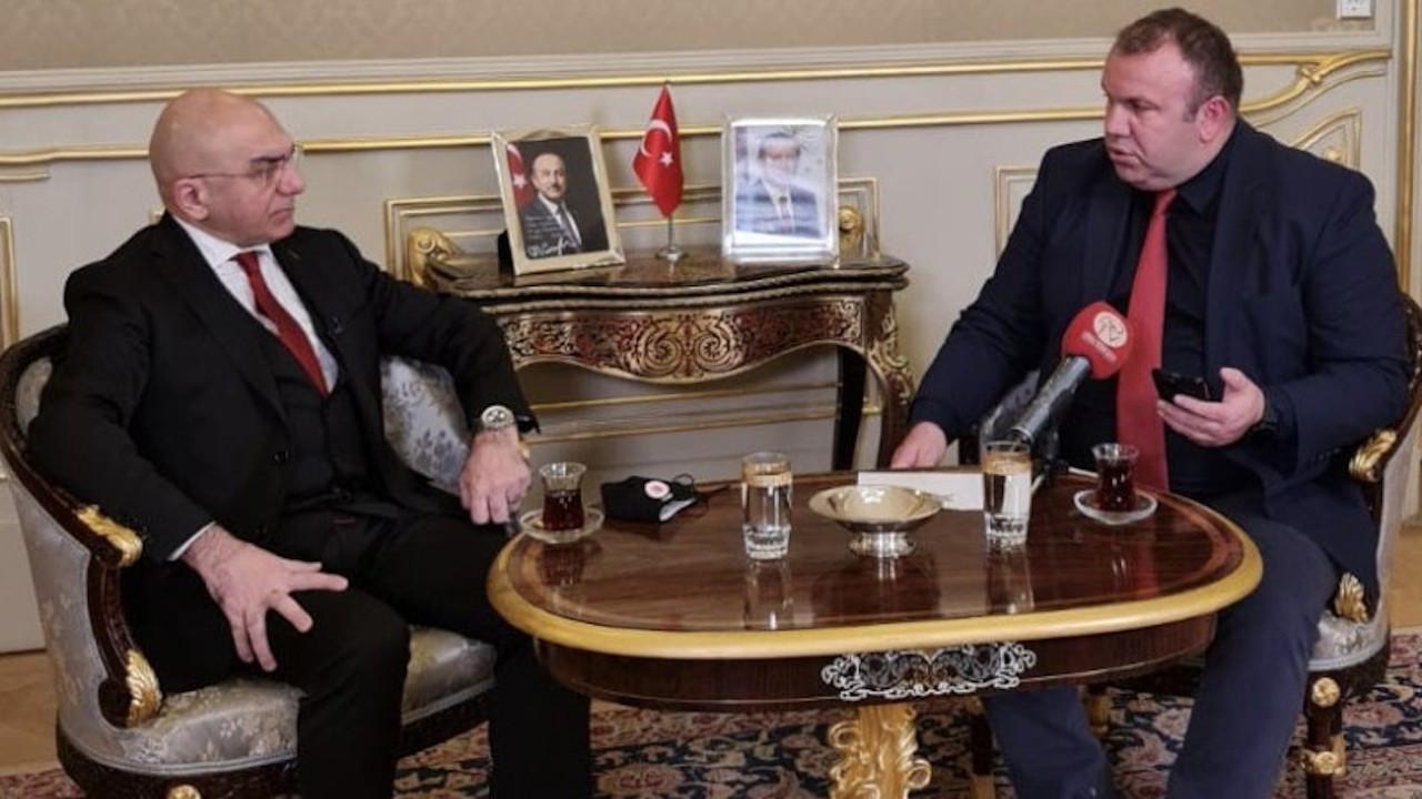 Viyana Büyükelçisi Ozan Ceyhun, Berivan Aslan'ı 'Türkiyeli' saymadı