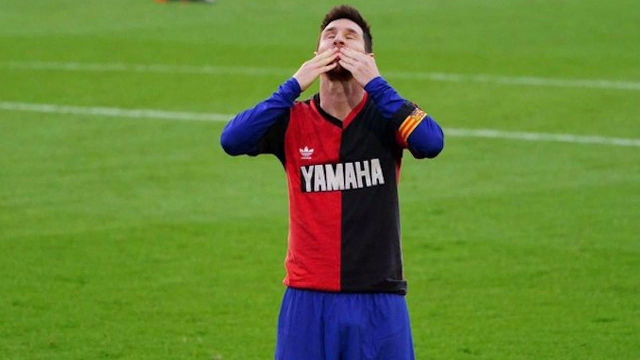 Messi'den yeni rekor geldi