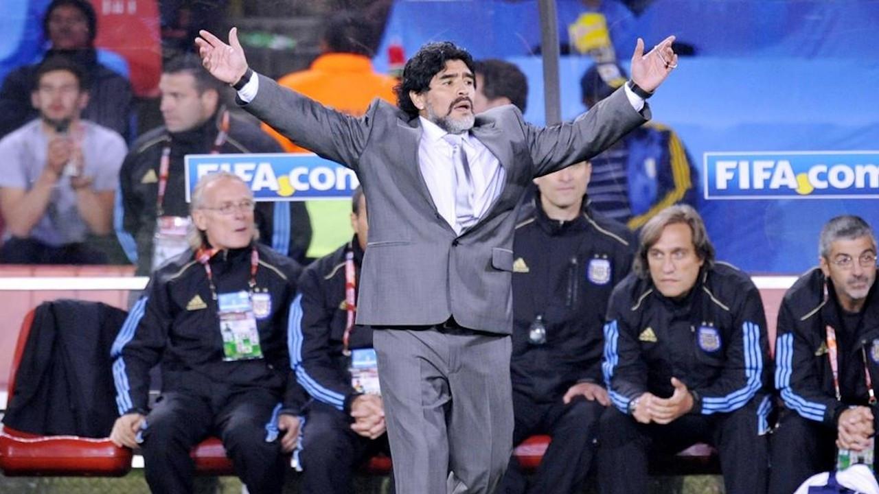 Dışişleri'nden Maradona için taziye mesajı: Huzur içinde yatsın