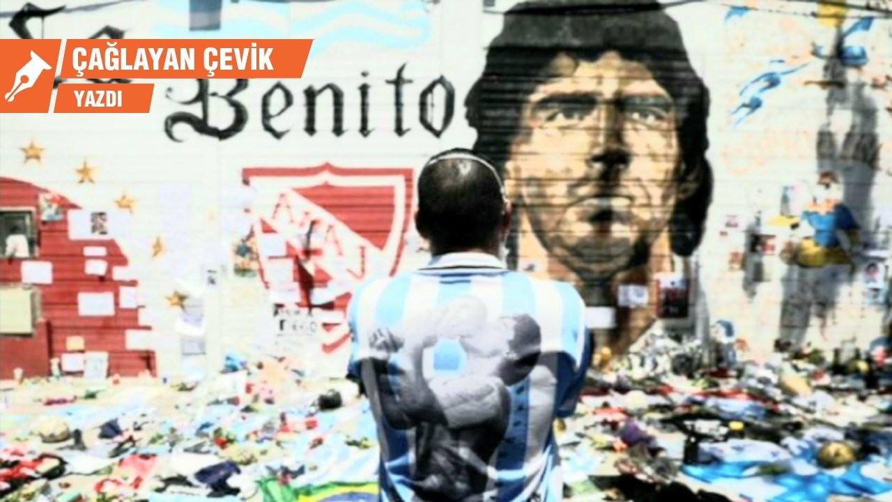 Ölürse Diego ölür Maradona ölesi değil...