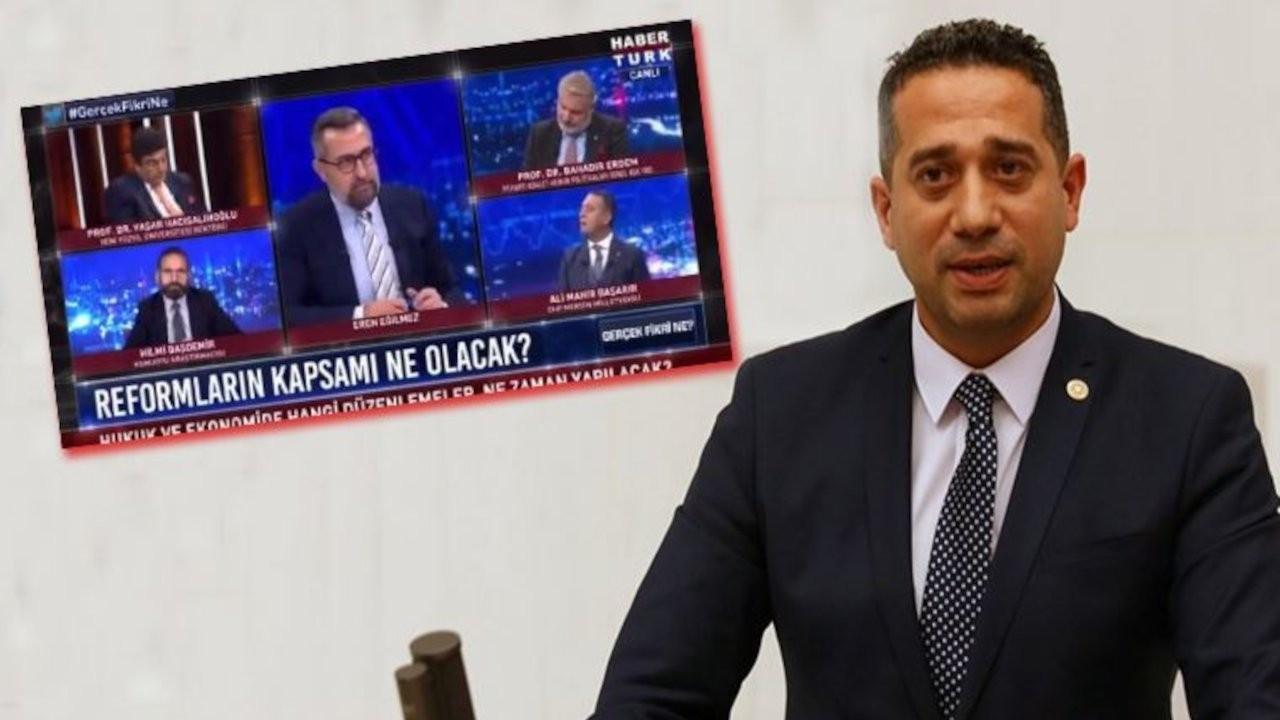 CHP'li vekilin sözlerinin devamı paylaşıldı