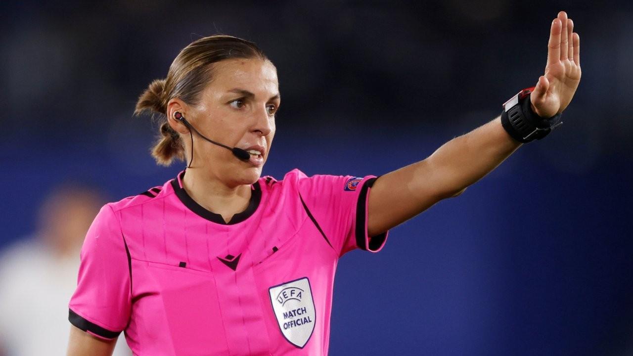 UEFA Şampiyonlar Ligi'nde ilk kez bir kadın hakem maç yönetecek