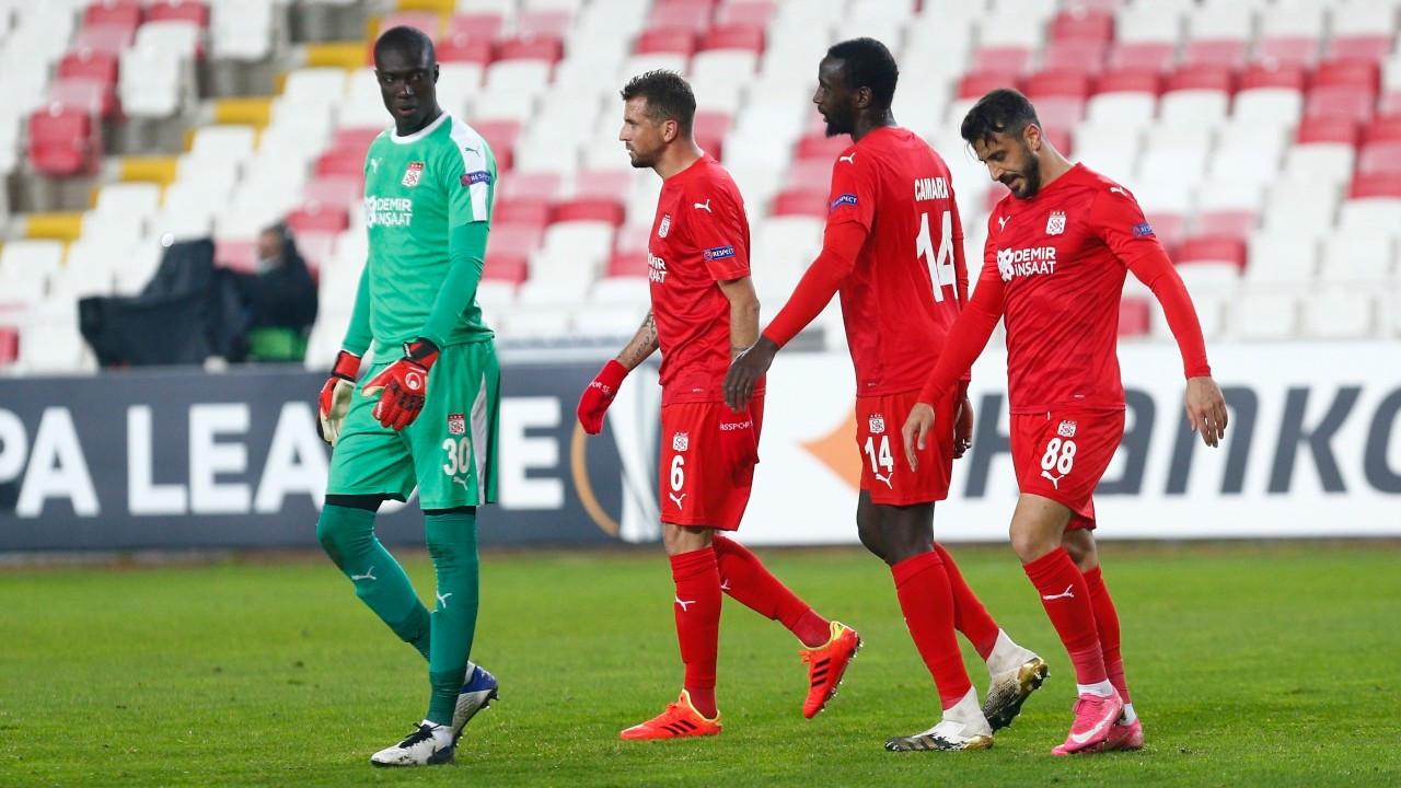 Sivasspor, Villarreal'e mağlup oldu