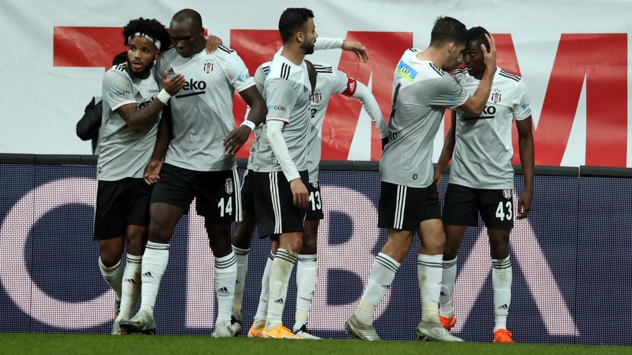 Beşiktaş'tan üst üste üçüncü galibiyet