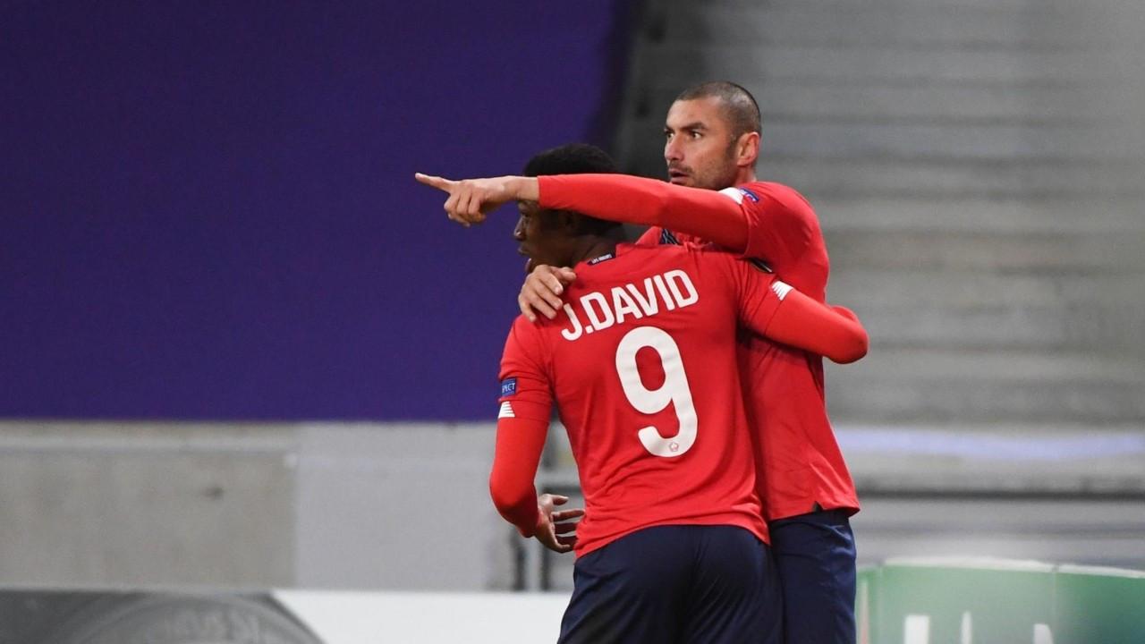 Burak Yılmaz 4 dakikada 2 gol attı, Lille tur atladı