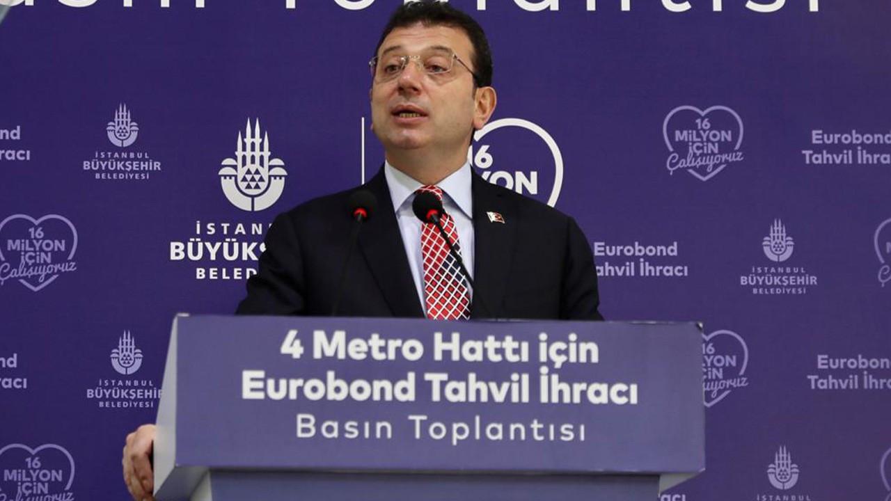 İBB 580 milyon dolarlık Eurobond tahvil ihracı yaptı