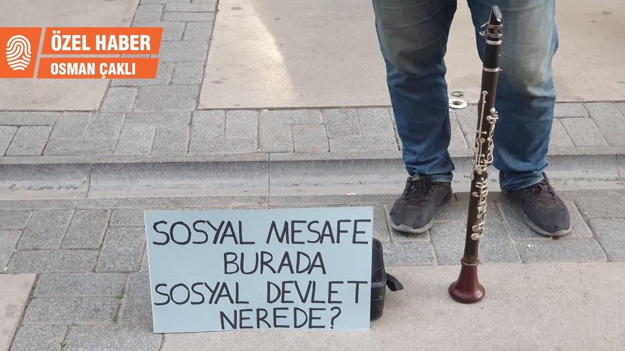Müzisyenler: Bakanlığın yardımı en az asgari ücret olmalı
