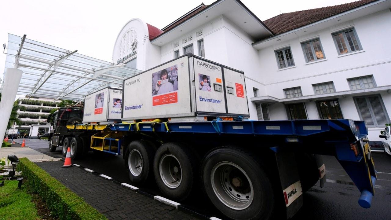 Endonezya, 1.5 milyon doz Çin aşısını teslim aldı