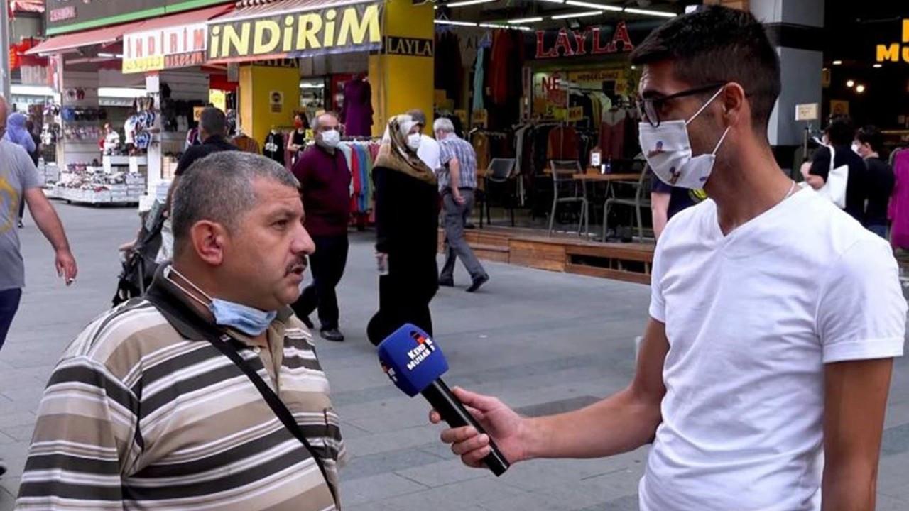Sokak röportajında hükümeti eleştirince tutuklanan İsmail Demirbaş tahliye oldu