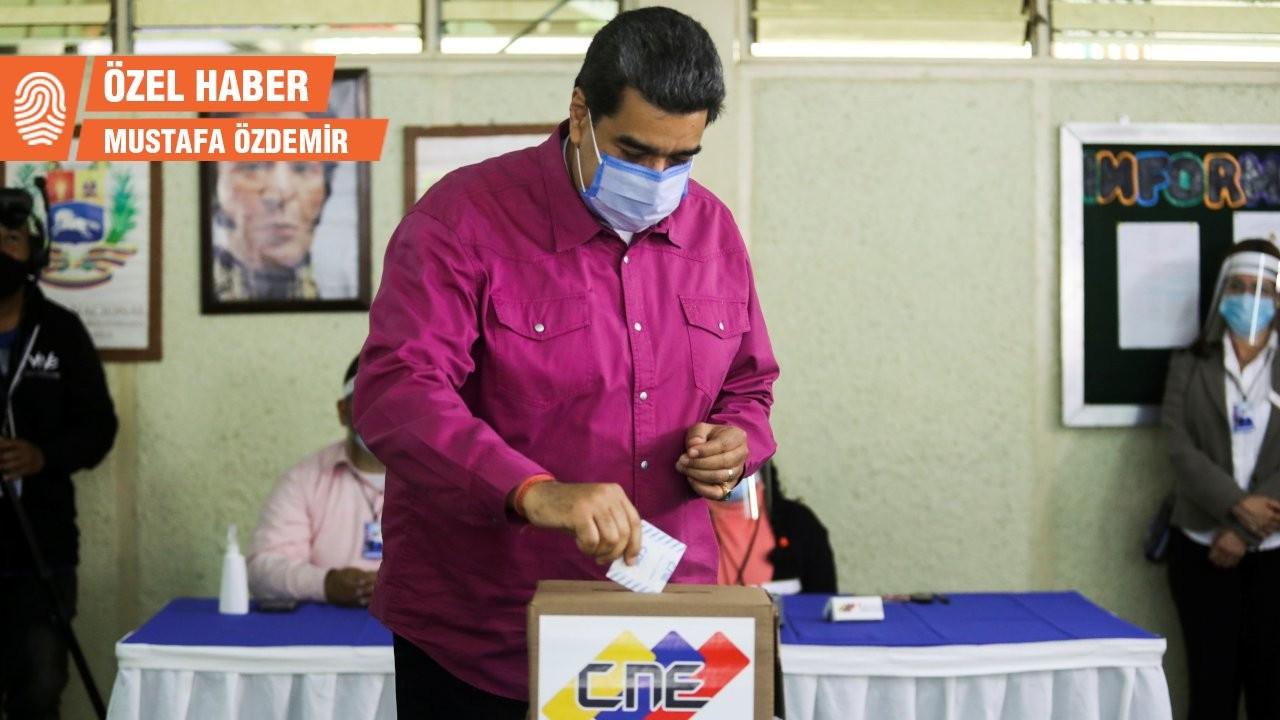 Venezuela'da milletvekili seçimlerine katılım yüzde 31'de kaldı