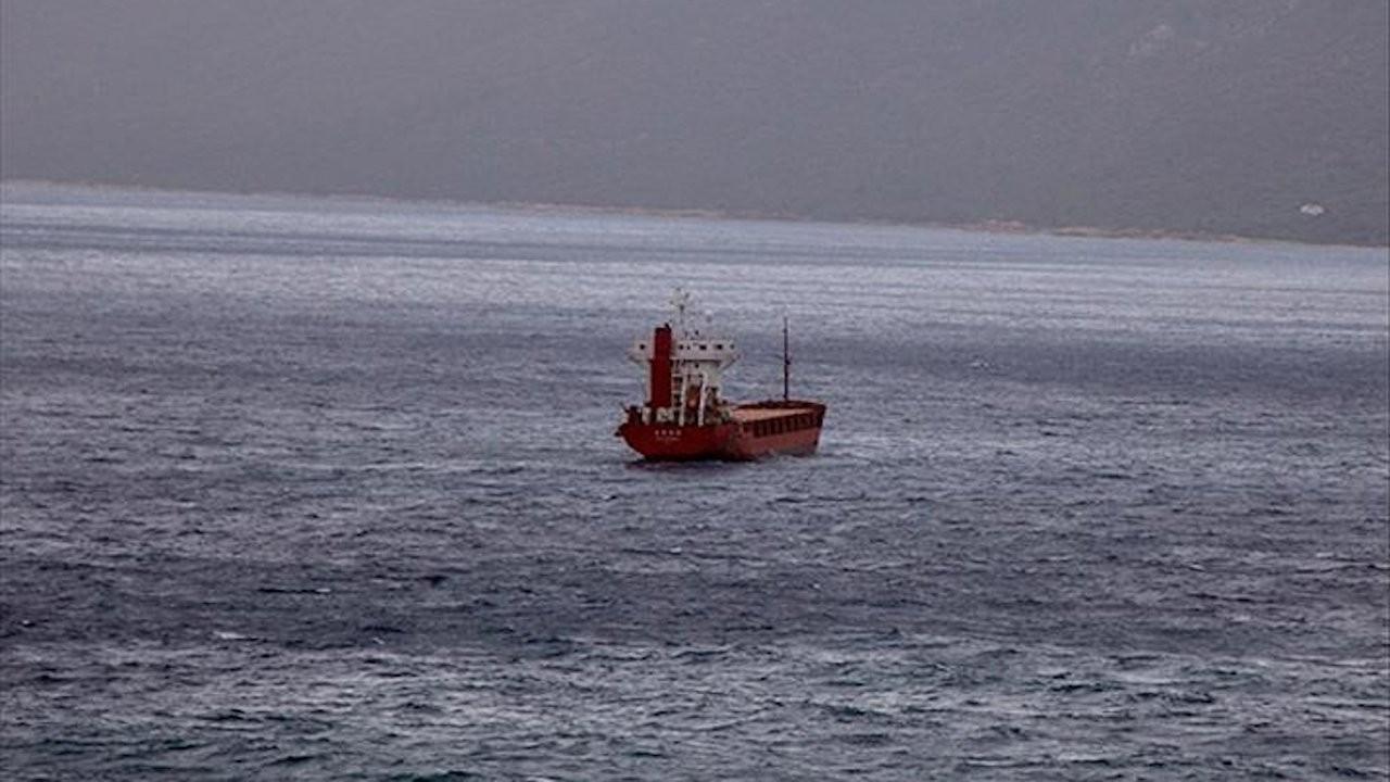 Libya'da Türkiye'ye ait gemiye el konuldu