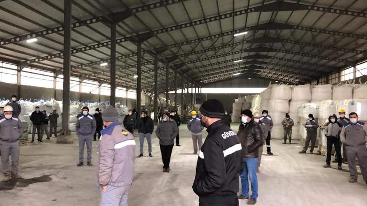 Ekmekçioğlu'nda sendikaya üye olan 20 işçi işten çıkarıldı