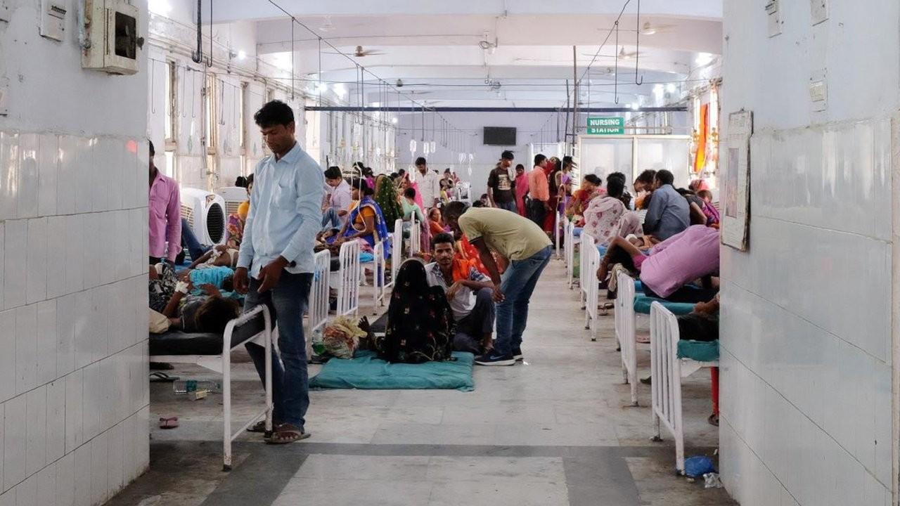 Hindistan'da 'gizemli hastalık': Kan örneklerinde kurşun bulundu
