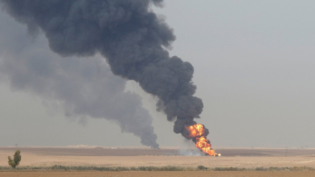 Kerkük'te petrol kuyularına bombalı saldırı