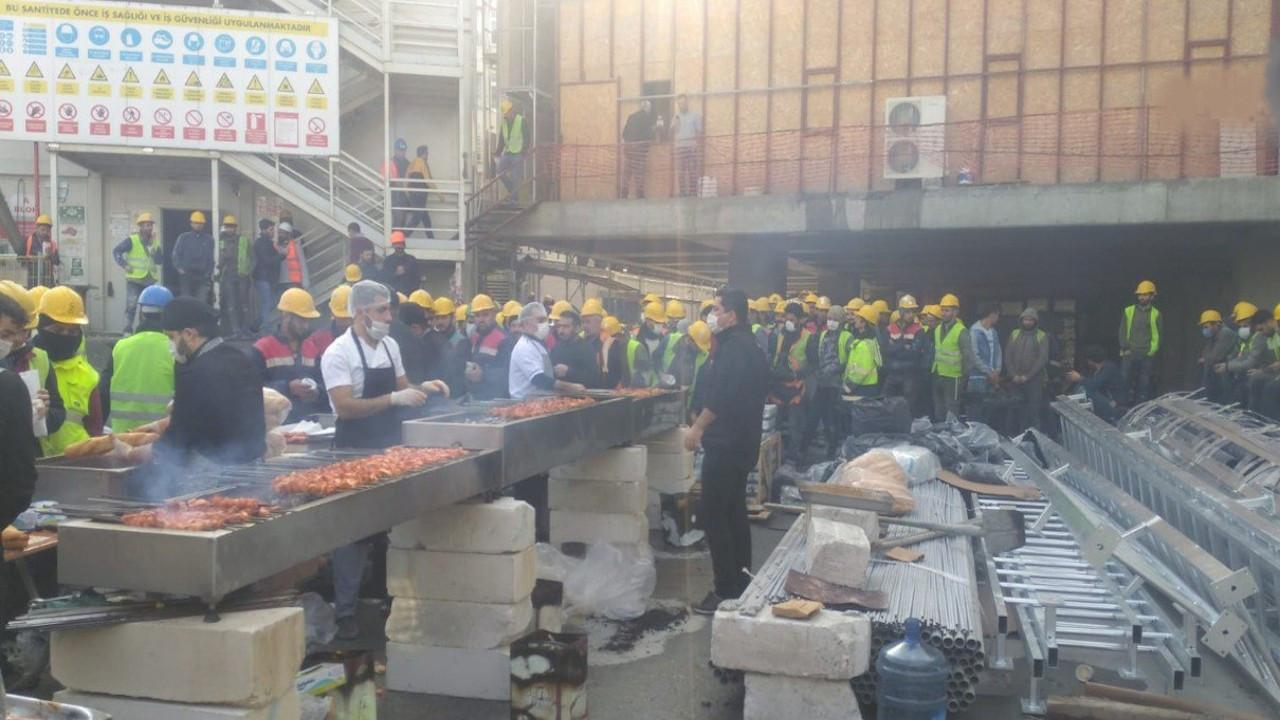 AKM inşaatında 'koronalı' mangal partisi