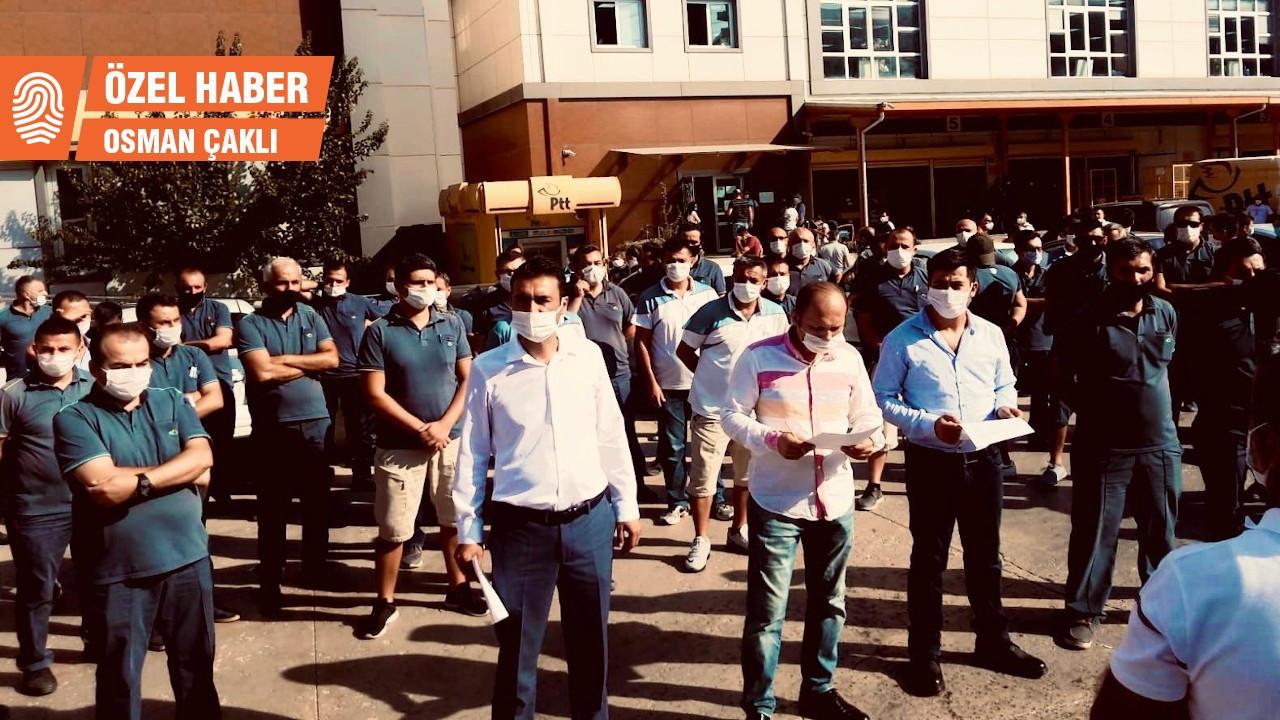 PTT işçileri direniş başlattı: Müdüre, amire ve taşeron şirketlere karşı hakkımız var