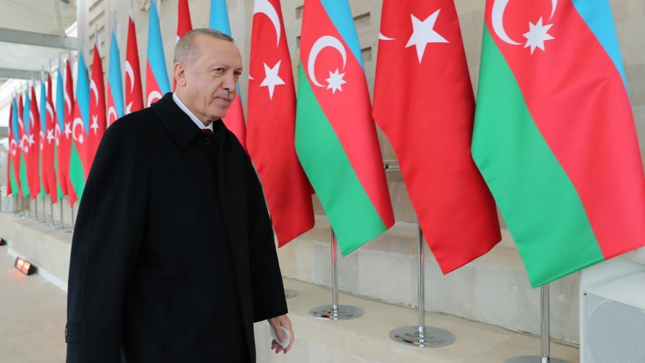 Erdoğan Azerbaycan'da: Mücadele devam edecek