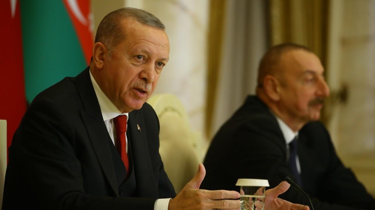Erdoğan: Biz barışın güvercinleri olmak istiyoruz