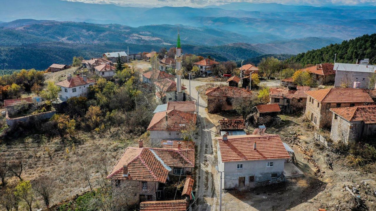Dağ köyünün nüfusu salgında 10 katına çıktı