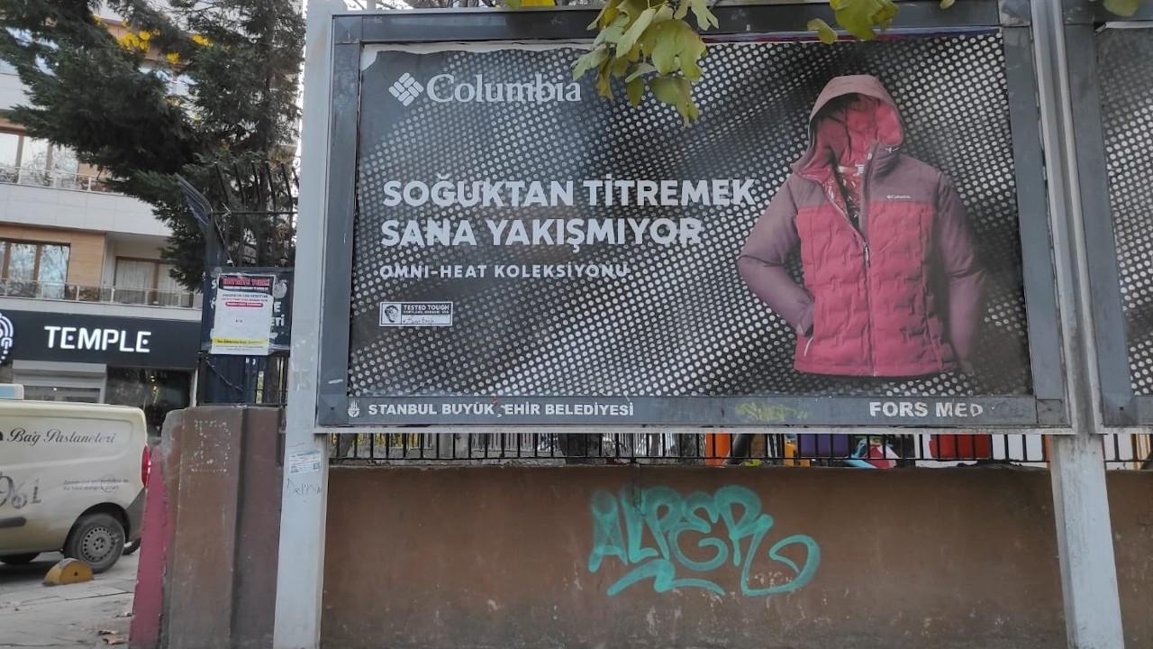 Columbia'nın reklamına tepki: Utanç verici