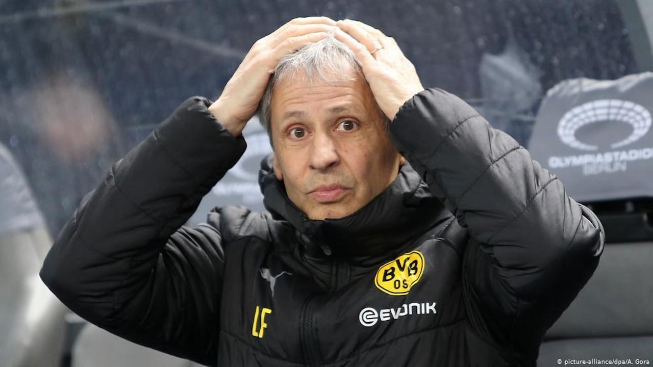 Borussia Dortmund, Lucien Favre'nin görevine son verdi