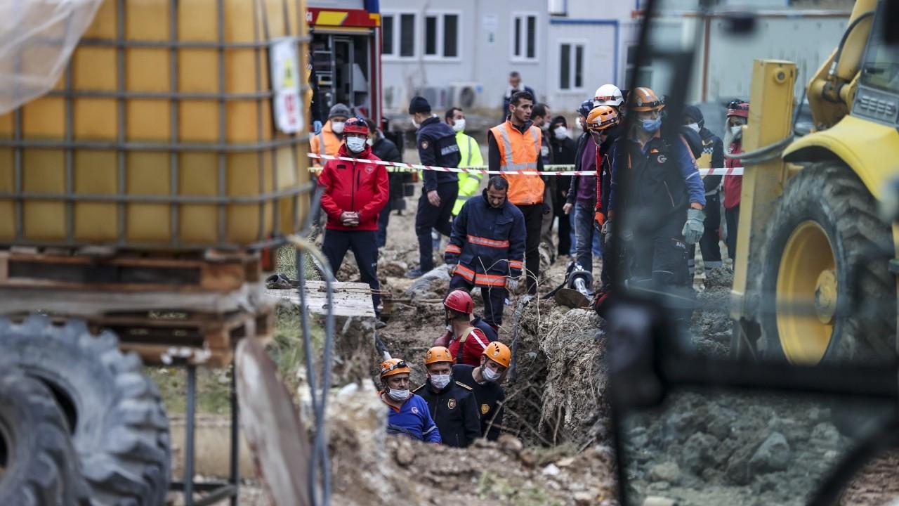 Ankara'da iş cinayeti: İki işçi toprak kaymasında öldü