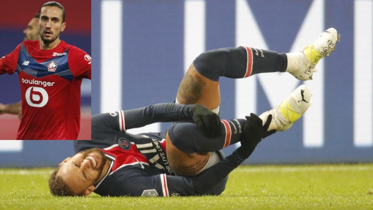 Neymar sakatlandı, PSG liderliği Lille'e kaptırdı