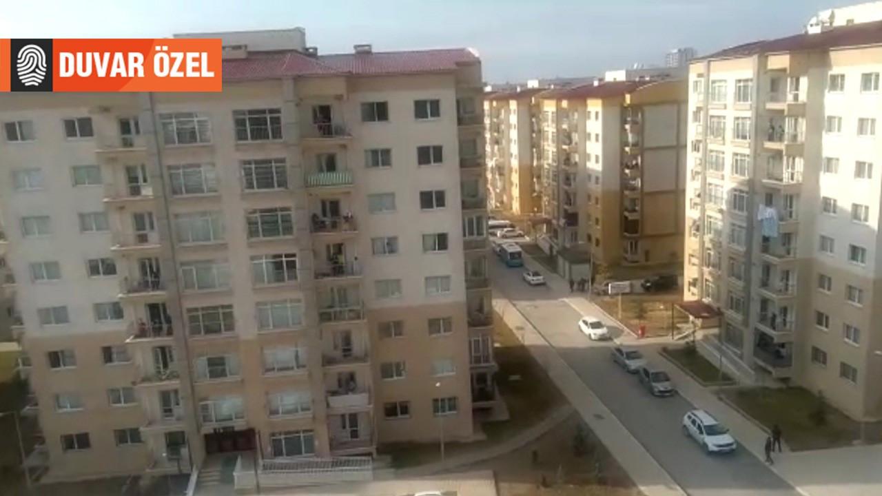 Şerefiye TOKİ'de herkese 'kaçak gaz' cezası