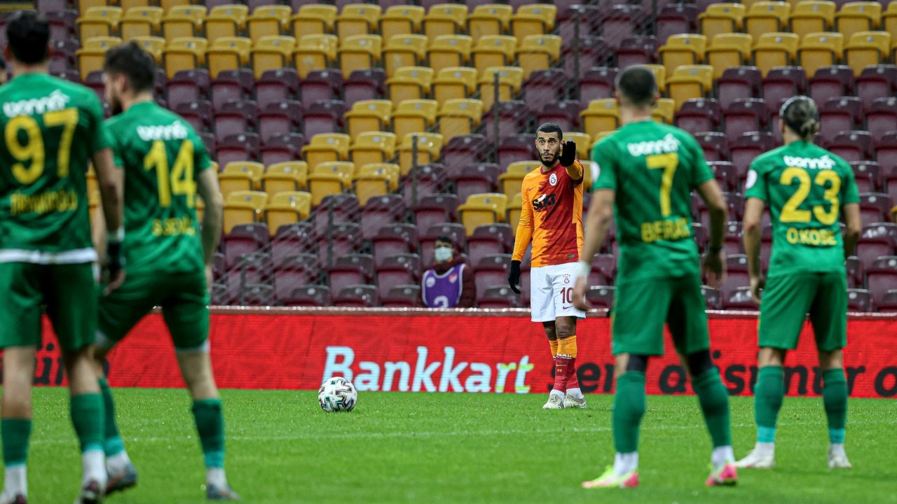 Galatasaray, Belhanda'nın golüyle tur atladı