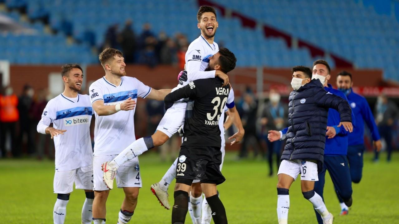 Son şampiyon Trabzonspor, Adana Demirspor'a elendi